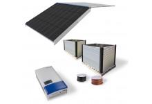 10 kw Mono Black integruota saulės elektrinė. Garantija 10 m.