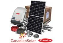 10 kw  saulės elektrinės komplektas